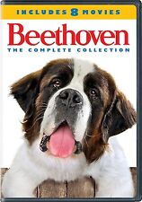 Beethoven: Complete St. Bernard Dog Movie Series Collection 1-8 Box/DVD Set NEW!
