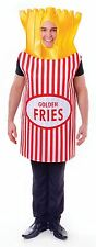 French Fries, Unisex Adult Fancy Dress Costume, One Size #US