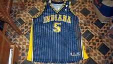WOW RARE! Authentic Indiana Pacers Jersey JALEN ROSE Vintage 1999 Reebok 52 NWT!