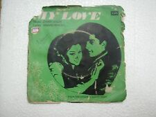 MY LOVE DAAN SINGH EMOE 2389 1969 RARE BOLLYWOOD india OST EP 45 rpm RECORD vg+