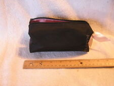 NEW  Mary Kay Consultant Director BLACK ZIPPERED MAKEUP BAG Tote  Vintage Rare
