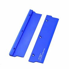 Memory Spreader Blue Heat Sink Cooler Aluminum With Thermal Pads 1Pc Set