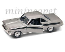 ROAD SIGNATURE 92708 1964 64 FORD FALCON 1/18 DIECAST MODEL CAR SILVER