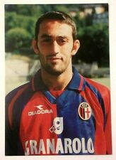 Cartolina Bologna Calcio 1998-99 Alessandro Rinaldi