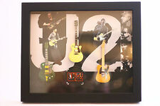 RGM8822 Bono U2 Miniature Guitars in Shadowbox Frame