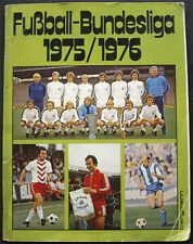 100% COMPLETE GERMANY BERGMANN BUNDESLIGA 1975-76 STICKER ALBUM