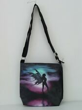 TWILIGHT TO STARTLIGHT JULIE FAIN MESSENGER SHOULDER BAG with LICENSED ART PRINT