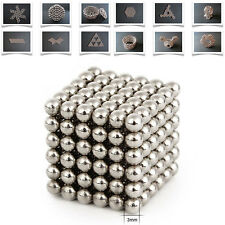 3mm 216pcs Magnet Balls Buckyballs Magic Beads 3D Puzzle Sphere Kids Toys Gift