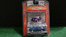 Greenlight 2006 Ford Mustang GT Convertible 1/64 Diecast Muscle Car Garage Blue
