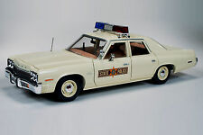 1975 Dodge Monaco ILLINOIS State POLICE Car 1:18 Auto World 1019