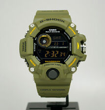New Casio GW9400-3 G-Shock Rangeman Triple Sensor Solar Digital Men's Watch