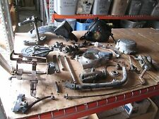1979 Honda CB750 Oil Inlet & Tank Frame Rail Brake Hub & Pedal Etc Parts Lot