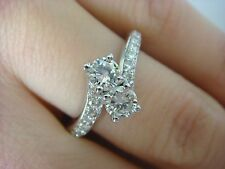 "14K WHITE GOLD ""EVER US"" 1.03 CT LADIES DIAMOND ANNIVERSARY-FRIENDSHIP RING"
