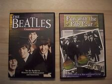 2 DVDs Fun with the Fab Four & The Beatles Unauthorized Rare OOP Paul Mccartney