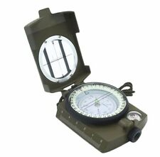 Professional Pocket Military Army Geology Compass for Outdoor Camping Hiking