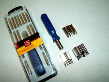 PRECISION SCREW DRIVER TOOL BIT SET TORX PHILLIPS SECURITY PHONE SCREWDRIVER