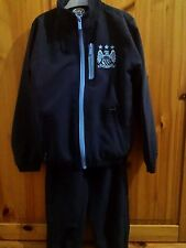 Boys Manchester City training track suit