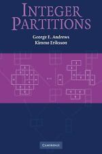 Integer Partitions by George E. Andrews and Kimmo Eriksson (2004, Paperback)