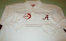 NWT ALABAMA CRIMSON TIDE ~ TABASCO ~ L/S POLO STYLE GOLF SHIRT SZ: MEDIUM