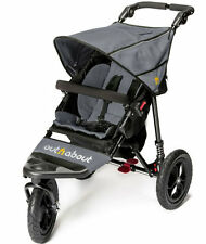 Brand new in box Out n About nipper single 360 V4 pushchair steel grey and pvc