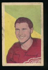 1952-53 Parkhurst Hockey #65 TONY LESWICK (Detroit Red Wings)