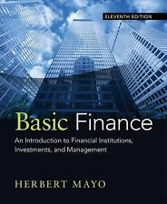 Basic Finance: An Introduction to Financial Institutions, Investments, and ...