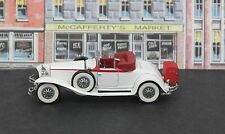 Franklin Mint B11PR74 1:43 1929 Cord L29 Cabriolet Exc Boxed White