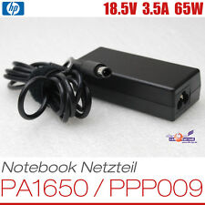 HP NOTEBOOK NETZTEIL AC ADAPTER PSU PPP009 PA-1650 18.5V 3.5A 65W 519329 384019