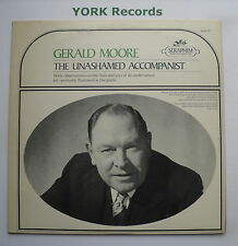 GERALD MOORE - The Unashamed Accompanist - Ex Con LP Record Seraphim M-60017