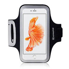 Shocksock Reflective Sports Jogging Gym Running Armband Case for iPhone 7 Black