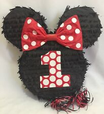 Birthday Mouse Ears with Red Bow Pinata Great for Minnie Mouse Birthday!