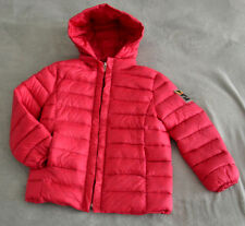 NWT Authentic Fendi Girl's Pink Winter Down Jacket Puffer (6 Years)  Hood Zip