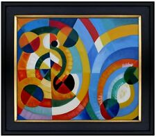 Framed Circles and Other Shapes Quality Hand Painted Oil Painting 20x24in