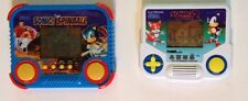 Sega Sonic the Hedgehog 2 AND Spinball handheld electronic games Tiger lot of 2