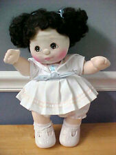 VNTG 1985 MATTEL My Child Doll Adorable BLACK hair BROWN eyes original outfit