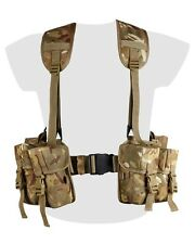 BTP Camo Webbing Belt Set PLCE Designed to Match MTP Multicam Military Army SAS