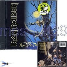 """IRON MAIDEN """"FEAR OF THE DARK"""" RARE CD MADE IN ITALY 1st PRESSING - MINT"""