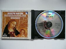 Pinnock conducts Haydn Nelson Mass & Te Deum English Concert Archiv 423 097 CD