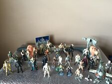 LOT -45+STAR WARS FIGURES And More 1990s POTF Boba Fett Micro Machines Applause