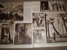 Photo article the Palace of Monaco 1949 r K