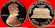2005 S Lincoln Cent Deep Cameo Gem Proof No Reserve