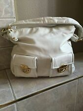 AMAZING WHITE Marc BY MARC Jacobs Made In Italy Leather WHITE SHOULDER Handbag