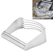 Stainless Pastry Dough Cutter Blender Mixer Whisk Baking Kitchen Tool EF