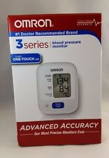 Omron BP629 3 Series Wrist Blood Pressure Monitor New Open Box