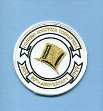 VF-14 TOPHATTERS 80th ANNIVERSARY 99 US NAVY GRUMMAN F-14 TOMCAT Squadron Patch