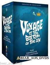 VOYAGE TO THE BOTTOM OF THE SEA 1-4 (1964-1968) COMPLETE TV Series DVD UK not US
