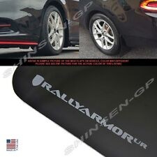 "Rally Armor UR ""Black Mud Flaps with Grey Logo"" for 2013-2016 Dodge Dart"