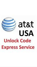 Factory Unlock Code Express Att AT&T Samsung Galaxy/Note All Models CLEAN IMEI