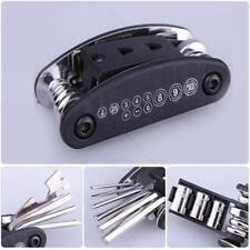 Bike Motorcycle Travel Repair Tool Allen Key Multi Hex Wrench Screwdriver Kit IP