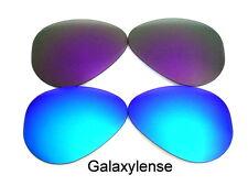 Galaxy Lentes De Repuesto Para Ray Ban RB3025 Aviador azul y morado 62mm